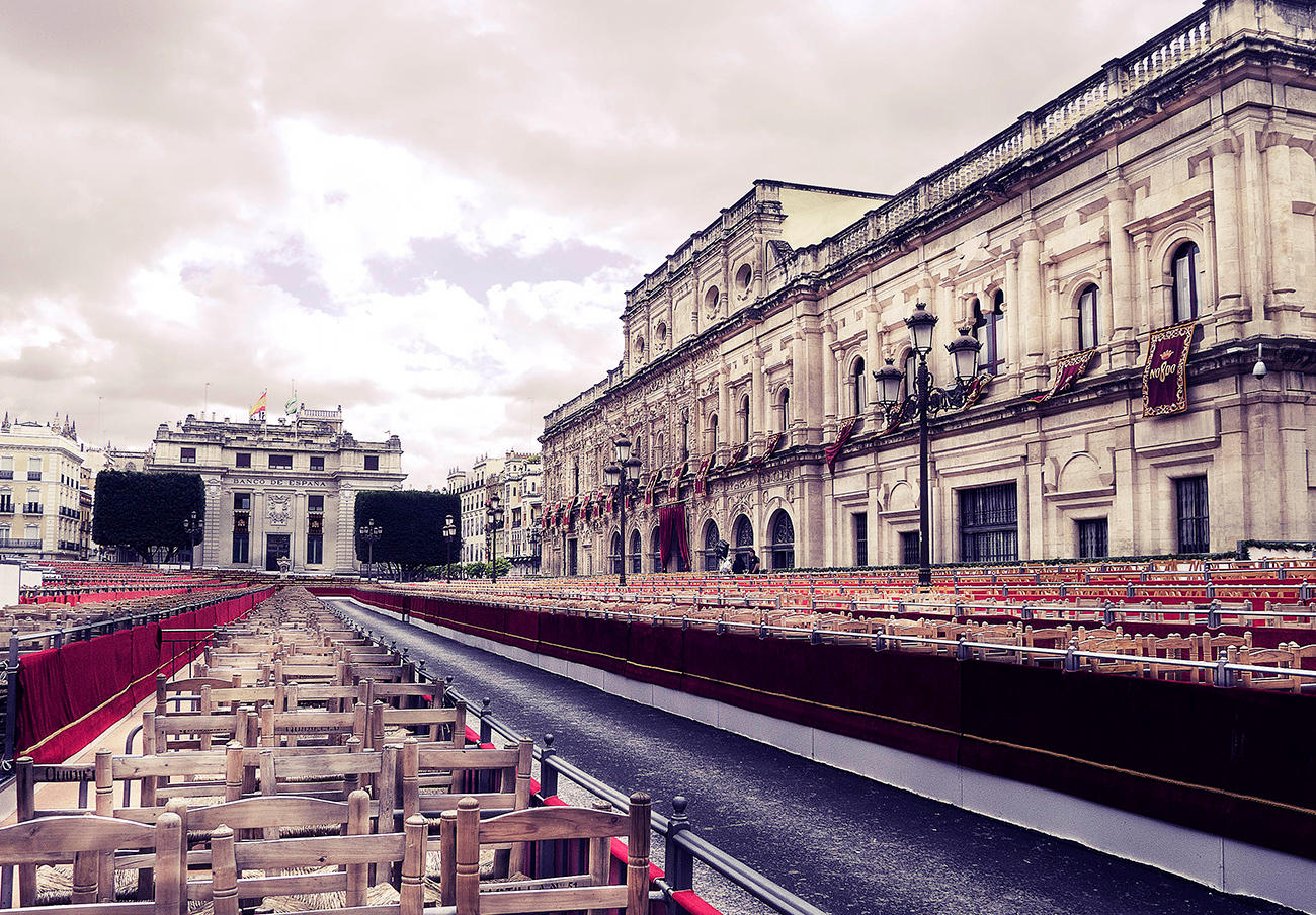 FACUA Sevilla reclama la devolución del importe de los abonos de las sillas y palcos de Semana Santa
