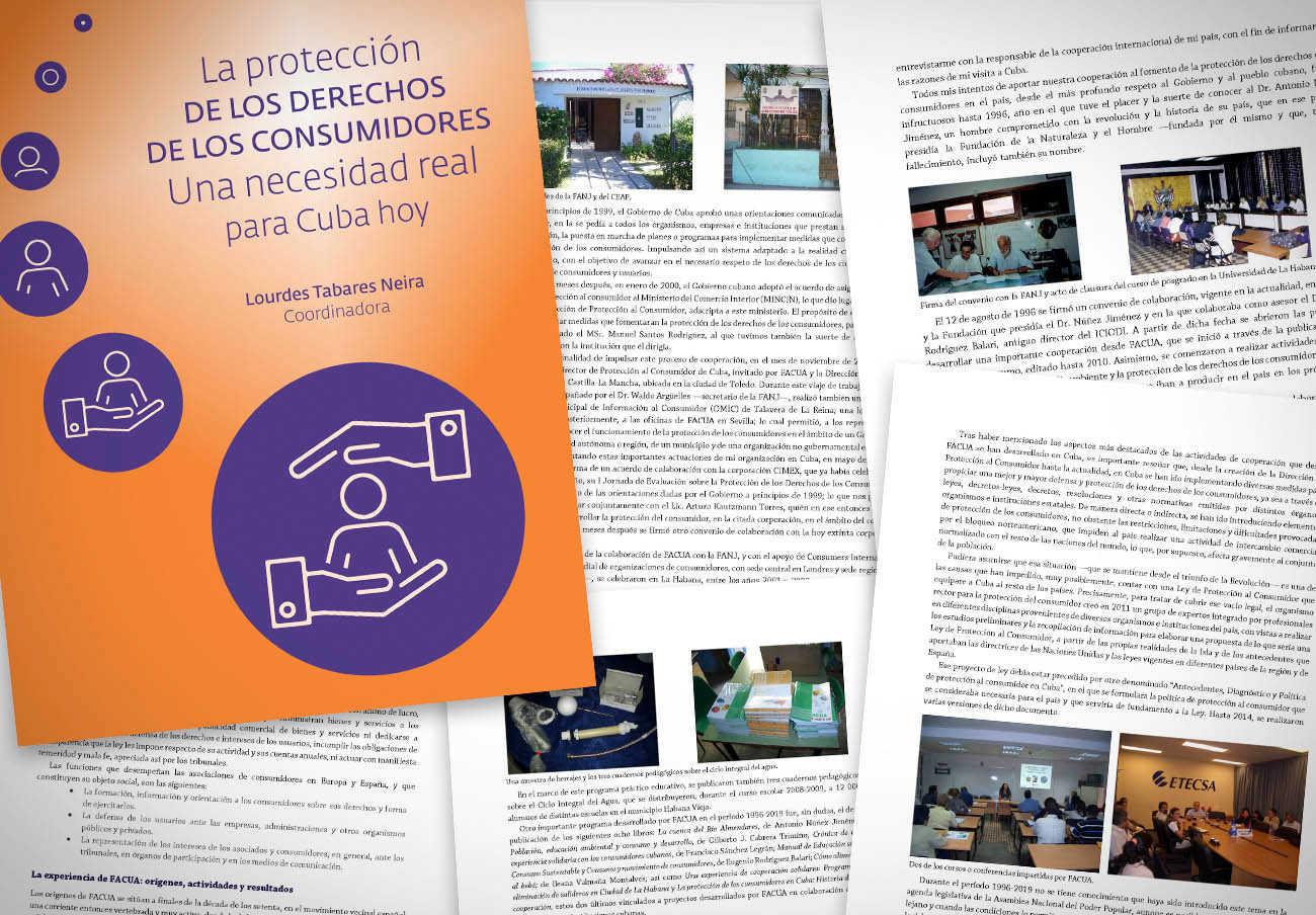 La Fundación FACUA edita un libro digital sobre la protección de los consumidores en Cuba