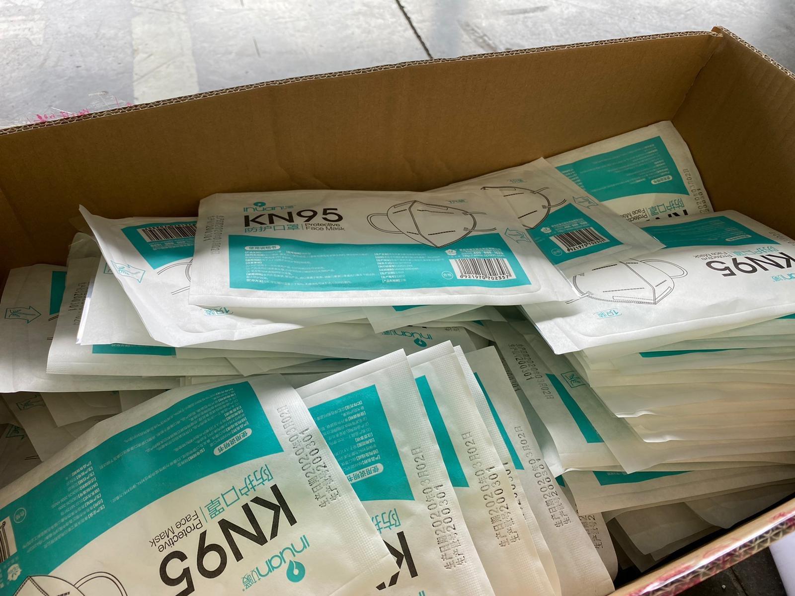 Andalucía retira mascarillas donadas a hospitales de varias comunidades y vendidas a farmacias