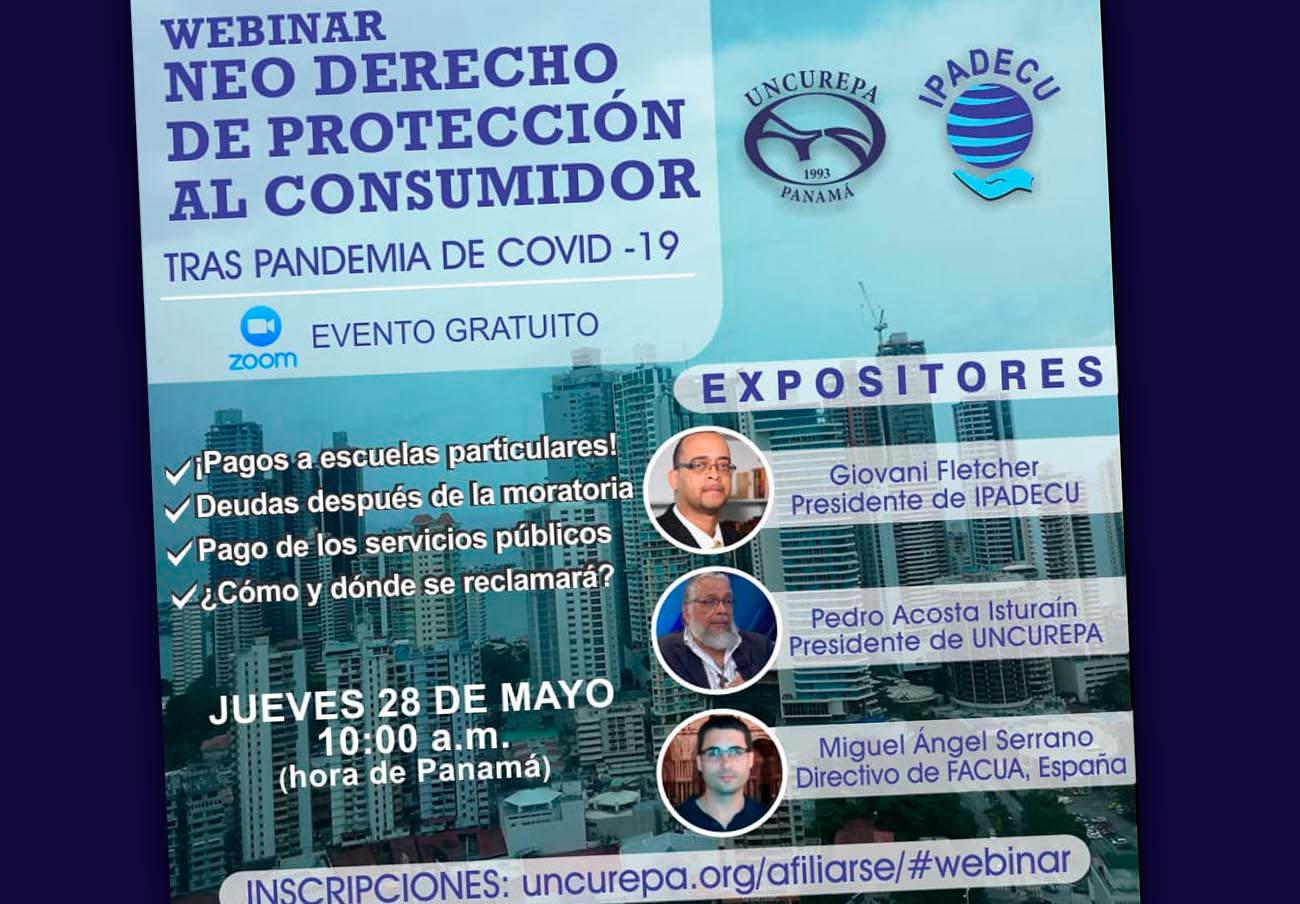 FACUA participa en un encuentro online sobre el consumo post Covid-19 de la asociación Uncurepa de Panamá