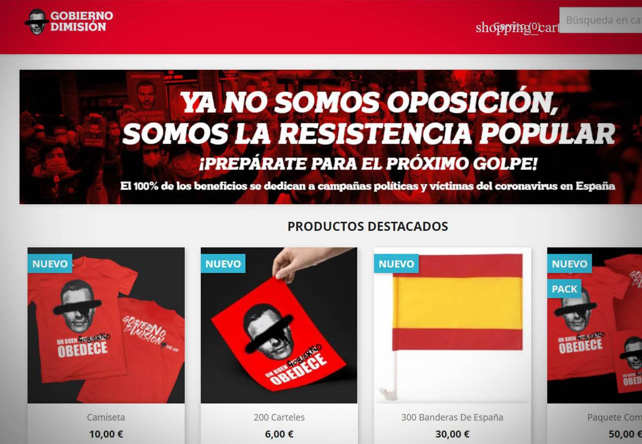 Tras las denuncias de FACUA, la web 'Gobierno Dimisión' identifica como propietario a una inmobiliaria