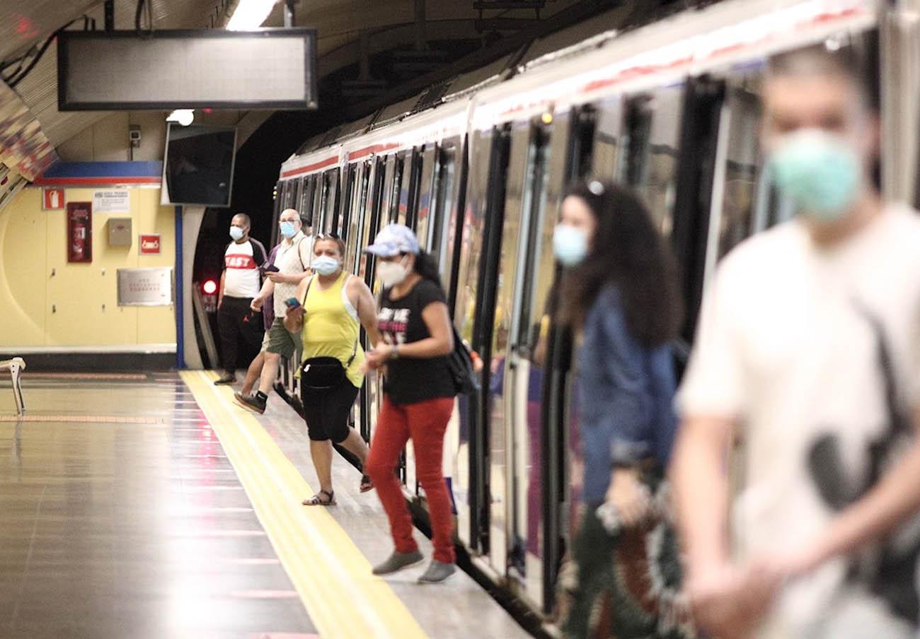 FACUA Madrid denuncia los altos niveles de ocupación en la red de Metro de Madrid