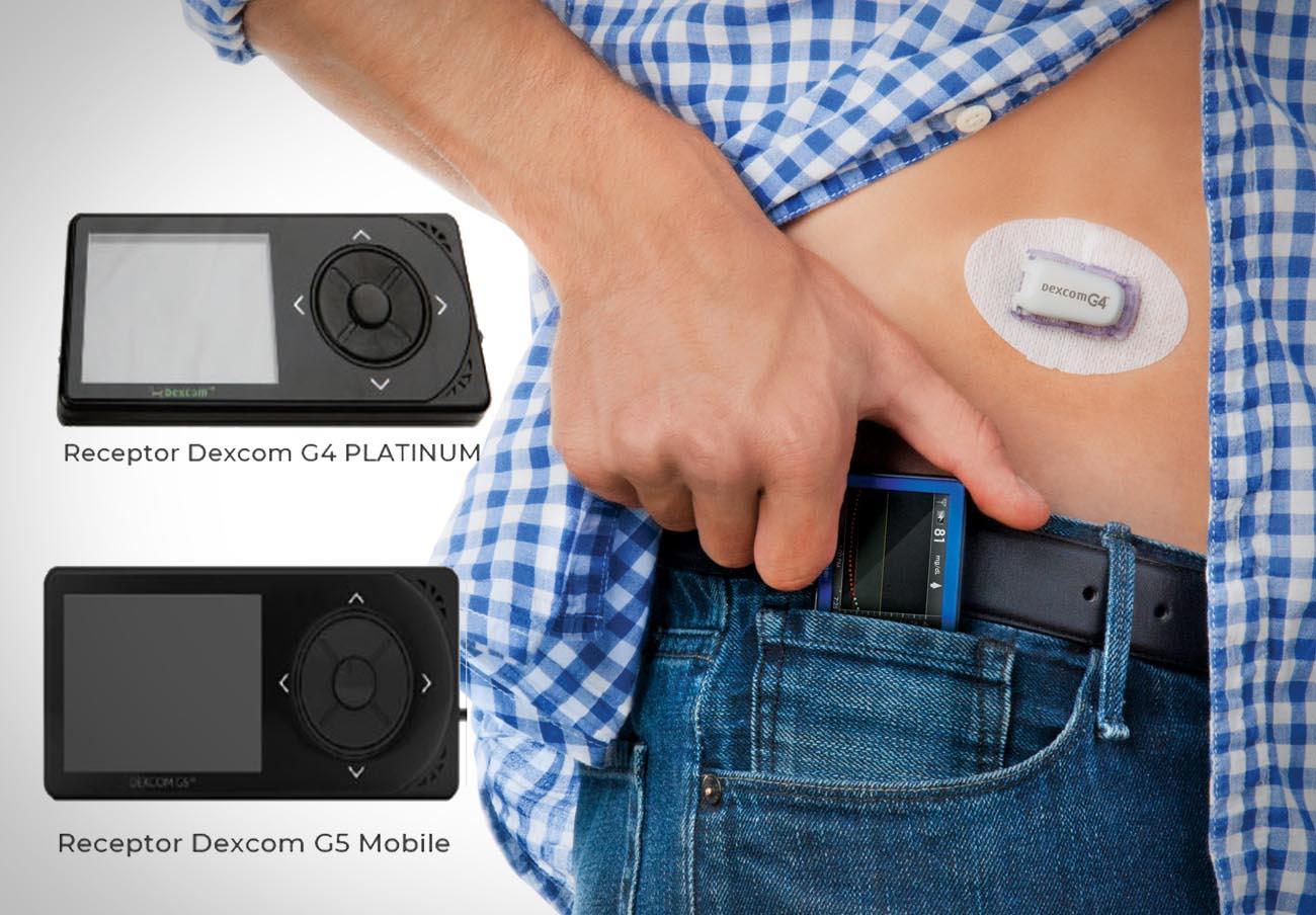 Sanidad alerta de fallos en los monitores de control de glucosa Dexcom G4 Platinum y Dexcom G5 Mobile