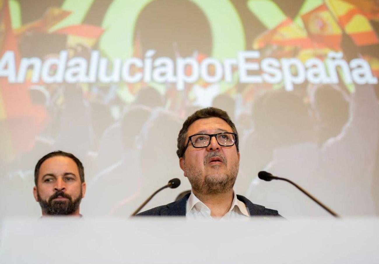 El TSJA admite a trámite la querella de Fiscalía contra el exlíder de Vox en Andalucía, Francisco Serrano