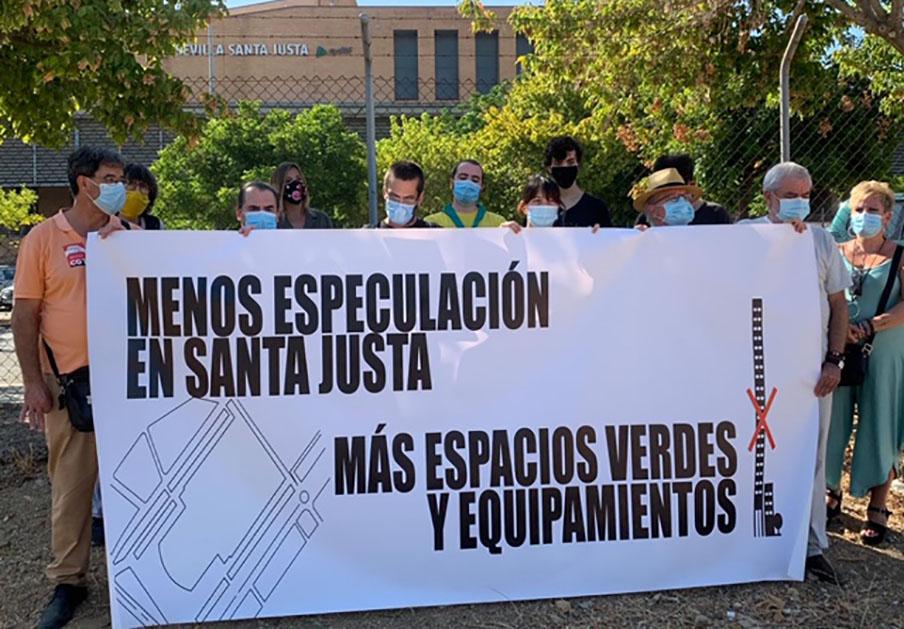 FACUA Sevilla reclama al Ayuntamiento una reforma social y equitativa del entorno de Santa Justa