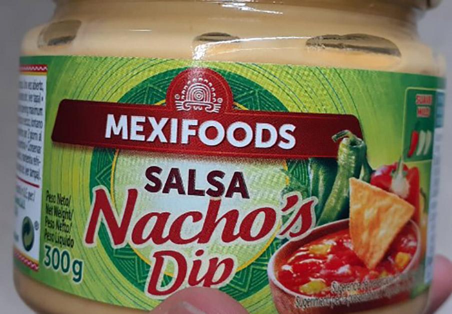 Alertan de leche no declarada en salsa de queso Mexifoods etiquetada erróneamente como salsa mexicana