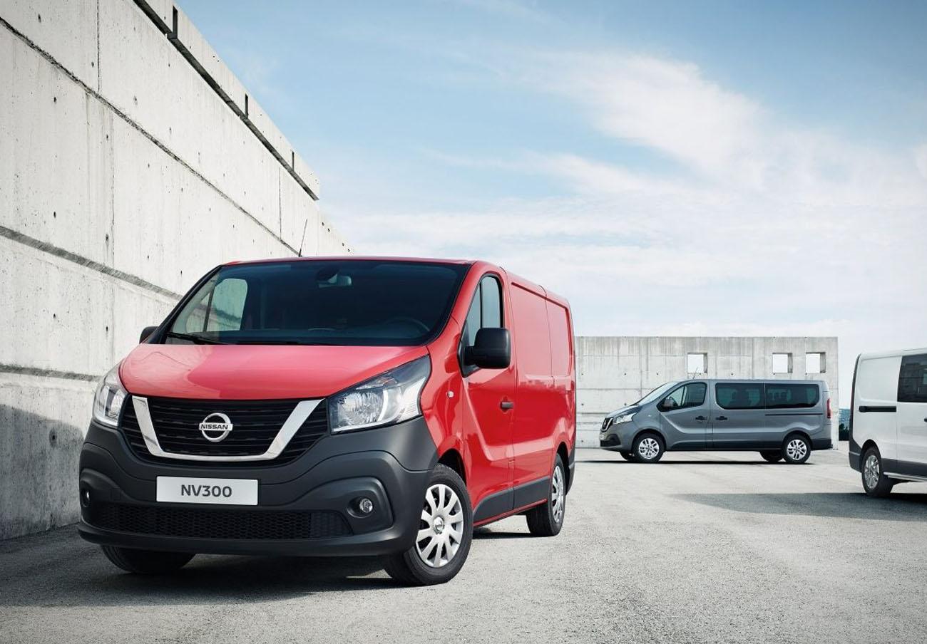 Alertan del riesgo de rotura del sistema de inflado del airbag de las furgonetas Nissan NV340