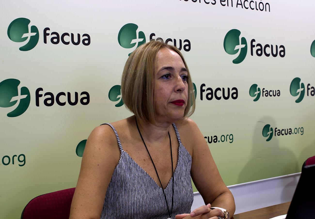 Olga Ruiz, nueva presidenta de FACUA