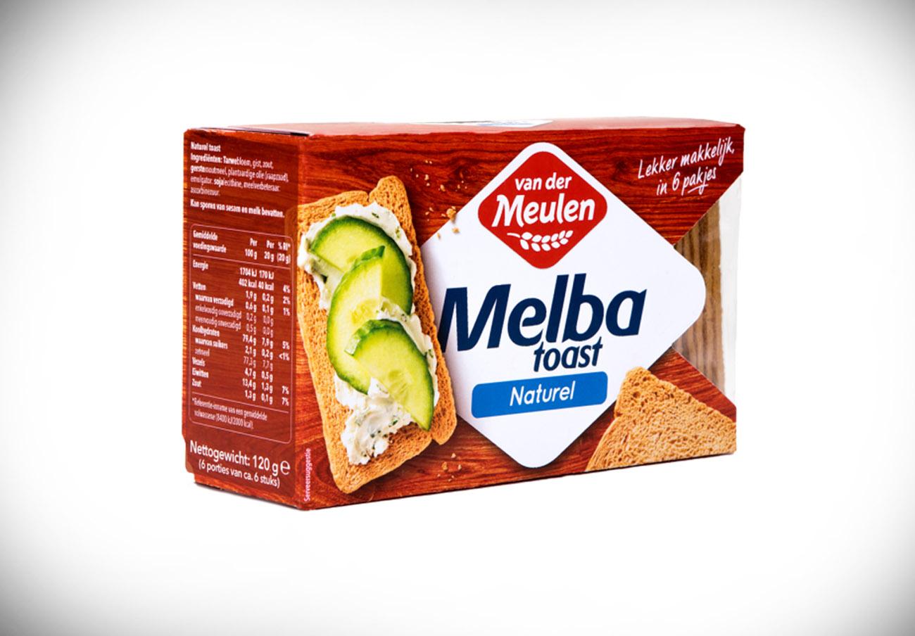 Consumo confirma que uno de los lotes de tostadas Melba con huevo no declarado es de marca Van der Meulen