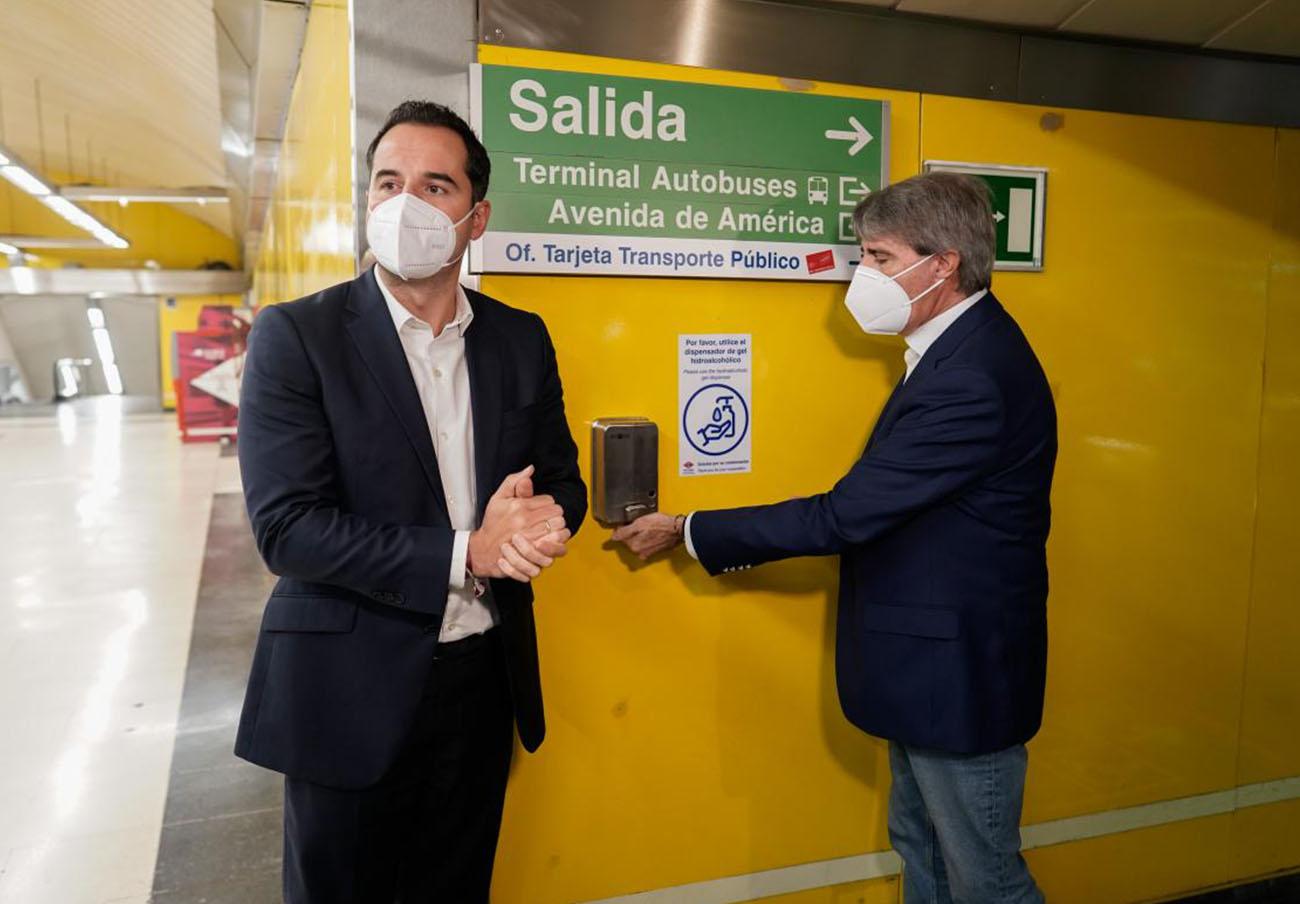 FACUA Madrid lamenta la irresponsabilidad de Aguado al decir sin pruebas que no hay contagios en el metro