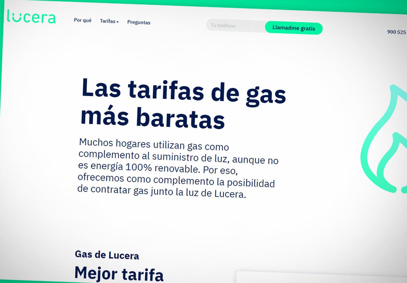 """FACUA denuncia a Lucera por anunciar """"las tarifas de gas más baratas"""" cuando realmente son las más caras"""