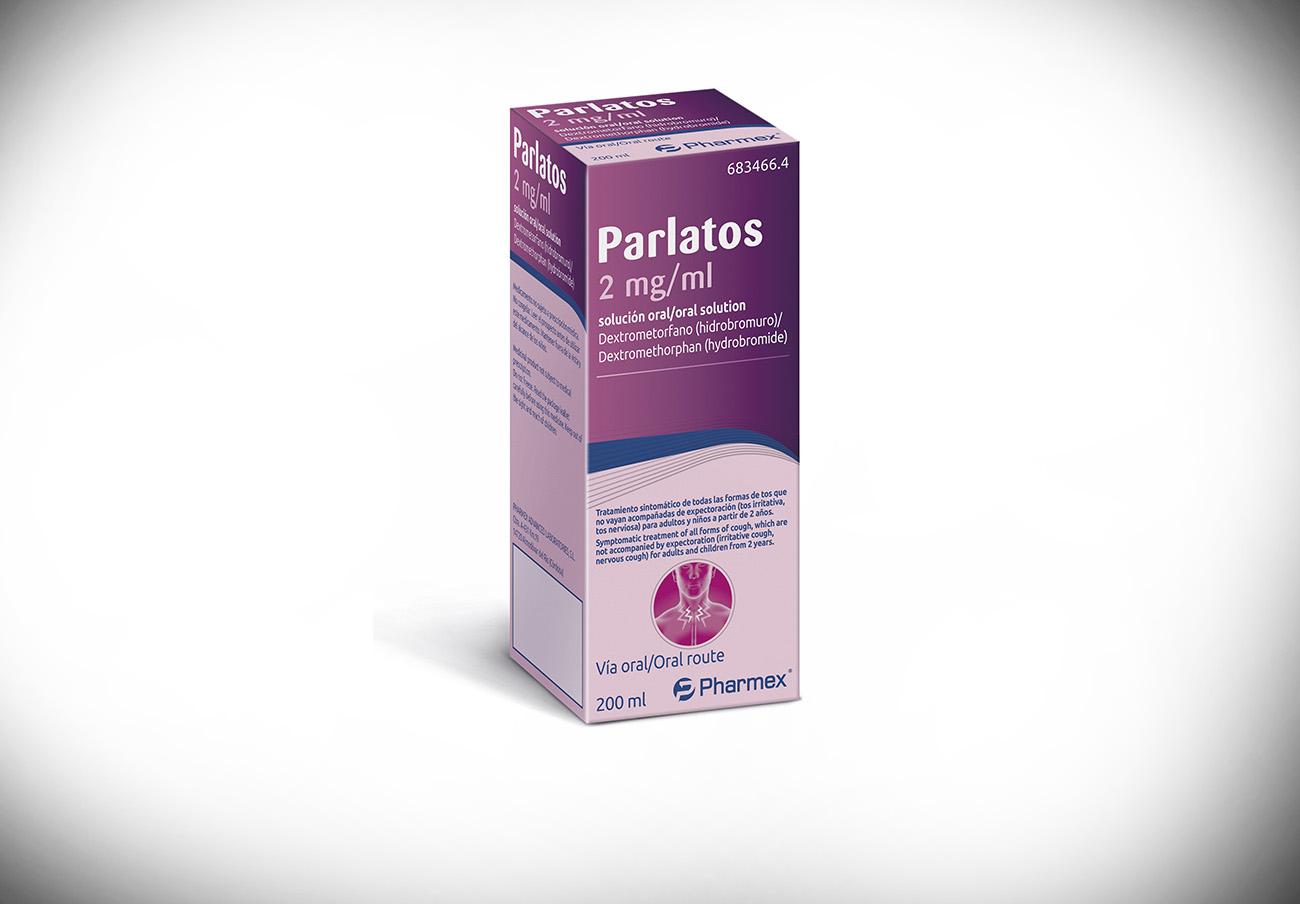 Sanidad ordena la retirada del jarabe para la tos Parlatos 2 mg/ml por un error en el etiquetado