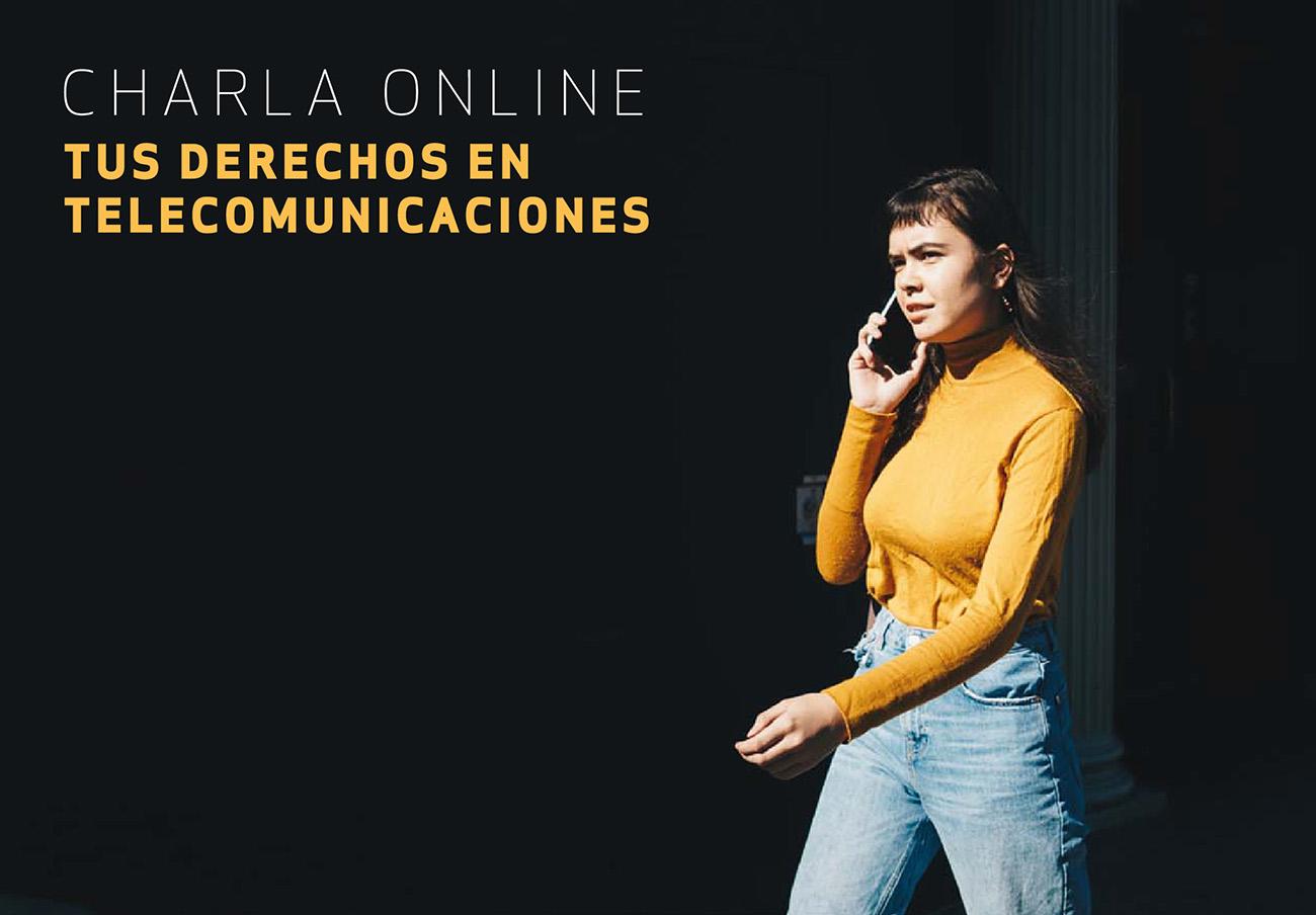 FACUA Comunidad Valenciana imparte una charla online sobre el sector de las telecomunicaciones