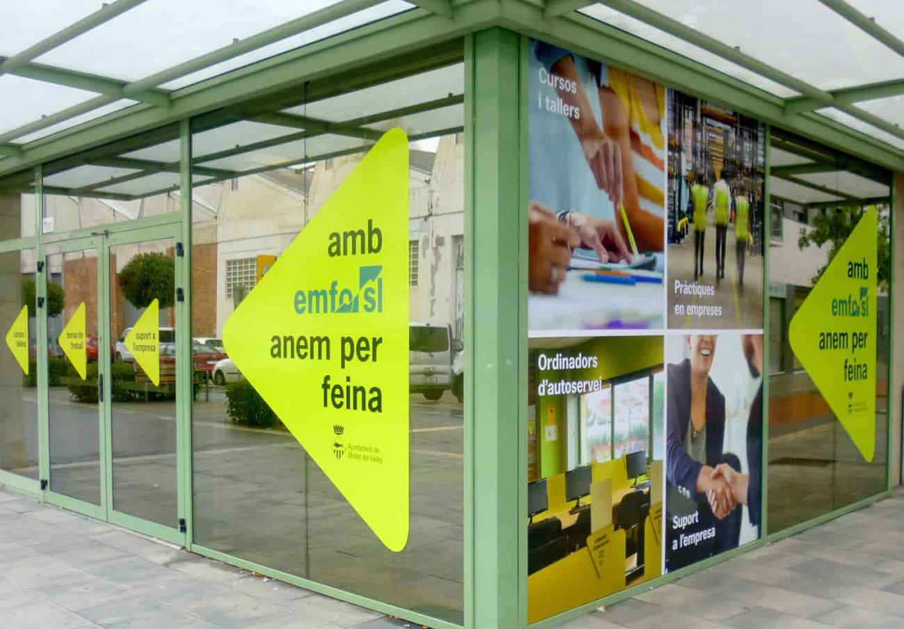 Uno de los edificios de la Empresa Municipal para la Formación y el Empleo de Mollet del Vallès. | Imagen: emfo.com