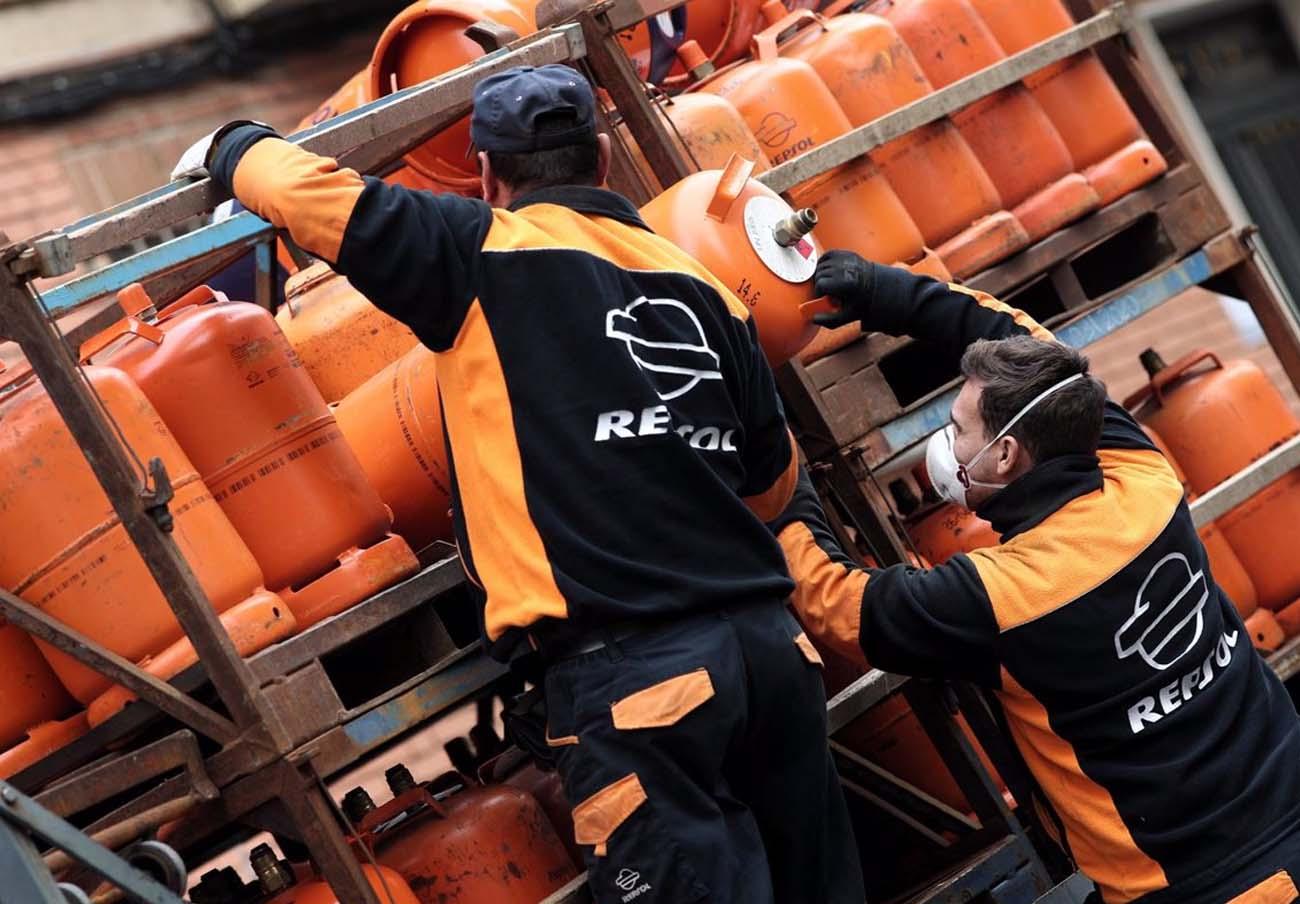 La bombona de butano sube un 5% y se sitúa en los 12,69 euros