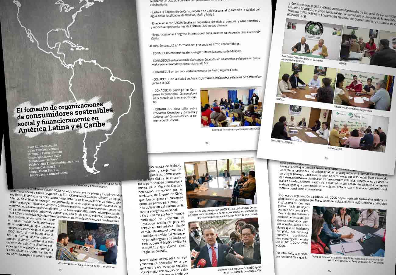 Las fundaciones FACUA y FCCR de Chile editan un libro sobre el movimiento consumerista de América Latina