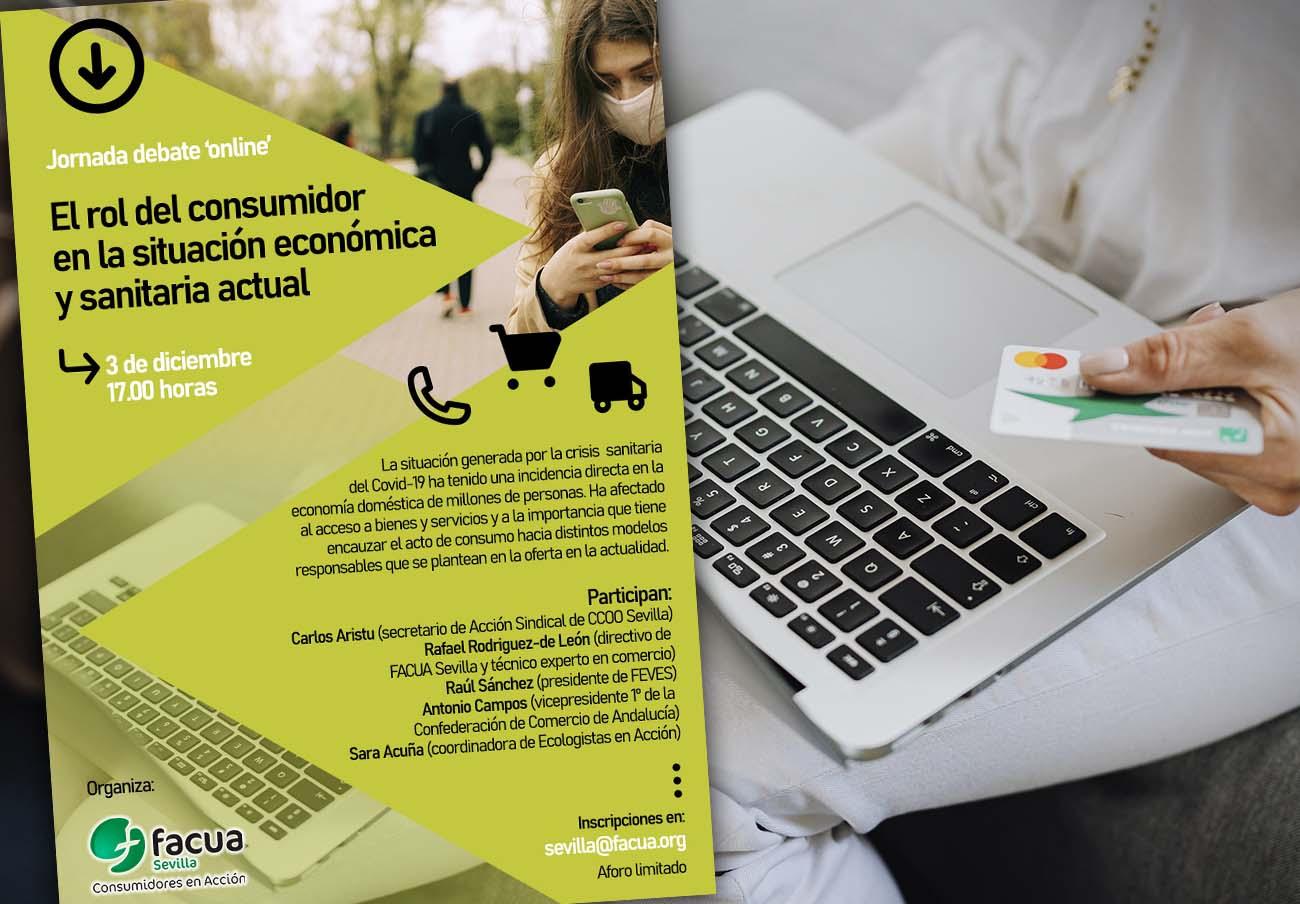 Jornada 'online' sobre el papel del consumidor en la situación económica y sanitaria post Covid-19