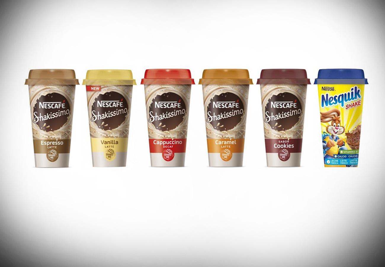 Alertan de la retirada de bebidas lácteas y copas de chocolate Nestlé por residuos de agua oxigenada