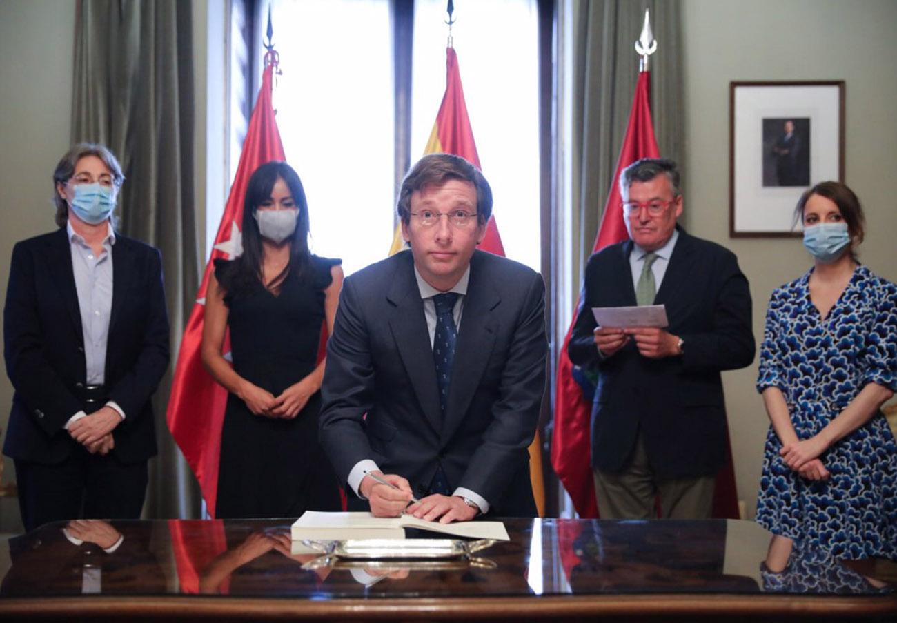 FACUA Madrid pide a Almeida que cumpla los protocolos sanitarios aprobados en los Acuerdos de la Villa