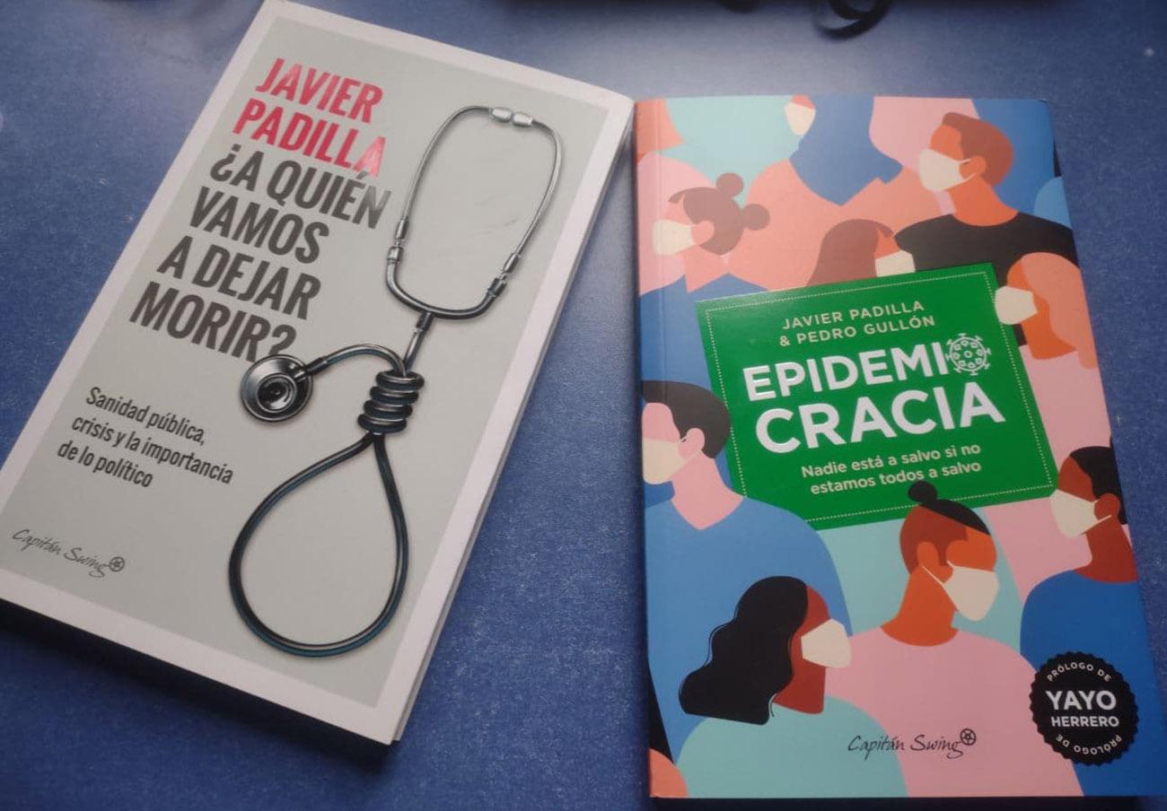 Javier Padilla ha publicado '¿A quién vamos a dejar morir?' y 'Epidemiocracia', este último junto a Pedro Gullón. | Imagen: Capitán Swing.