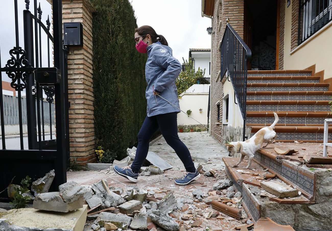 FACUA Granada explica a los afectados por los terremotos cómo reclamar los daños