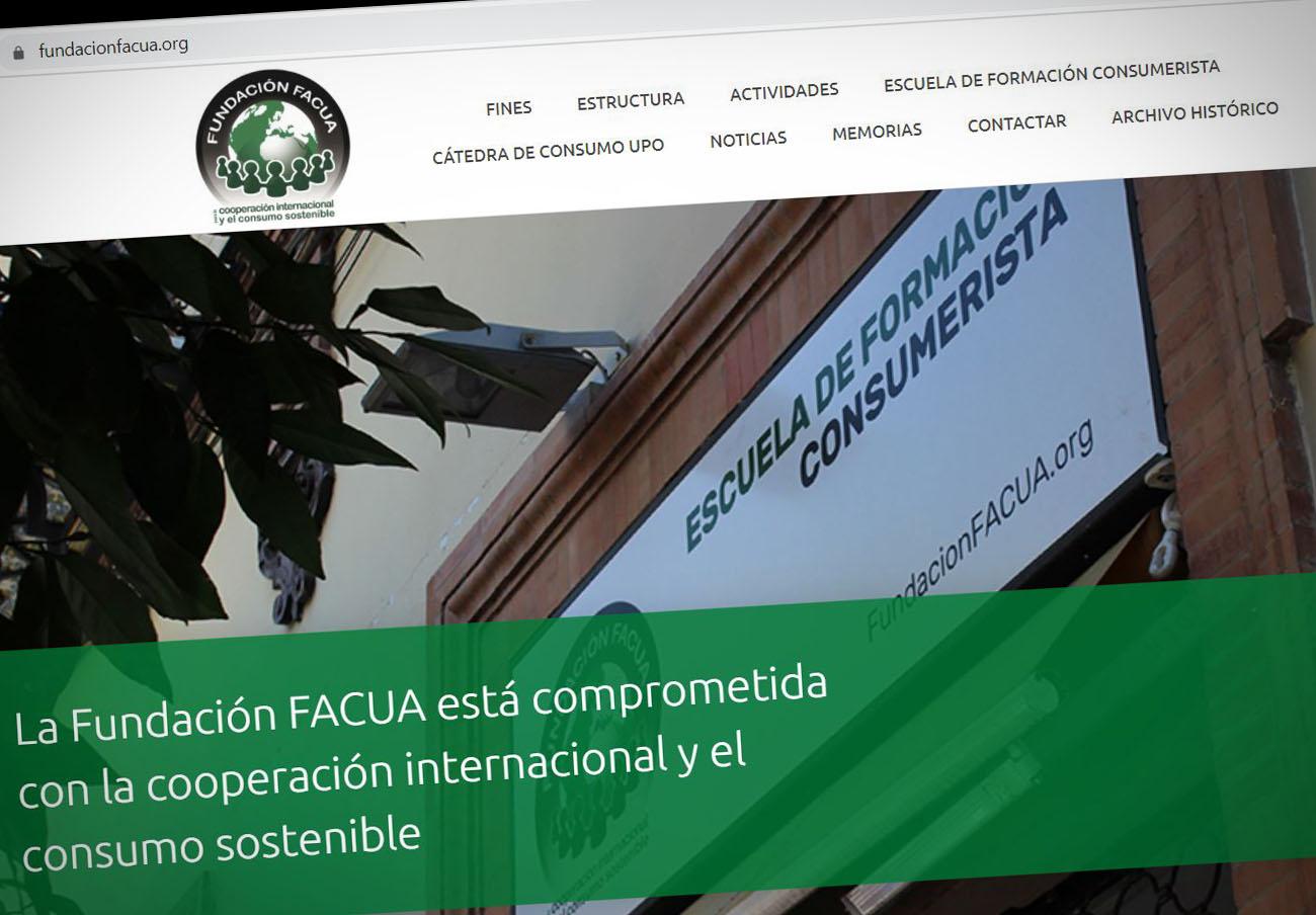 La Fundación FACUA renueva su página web