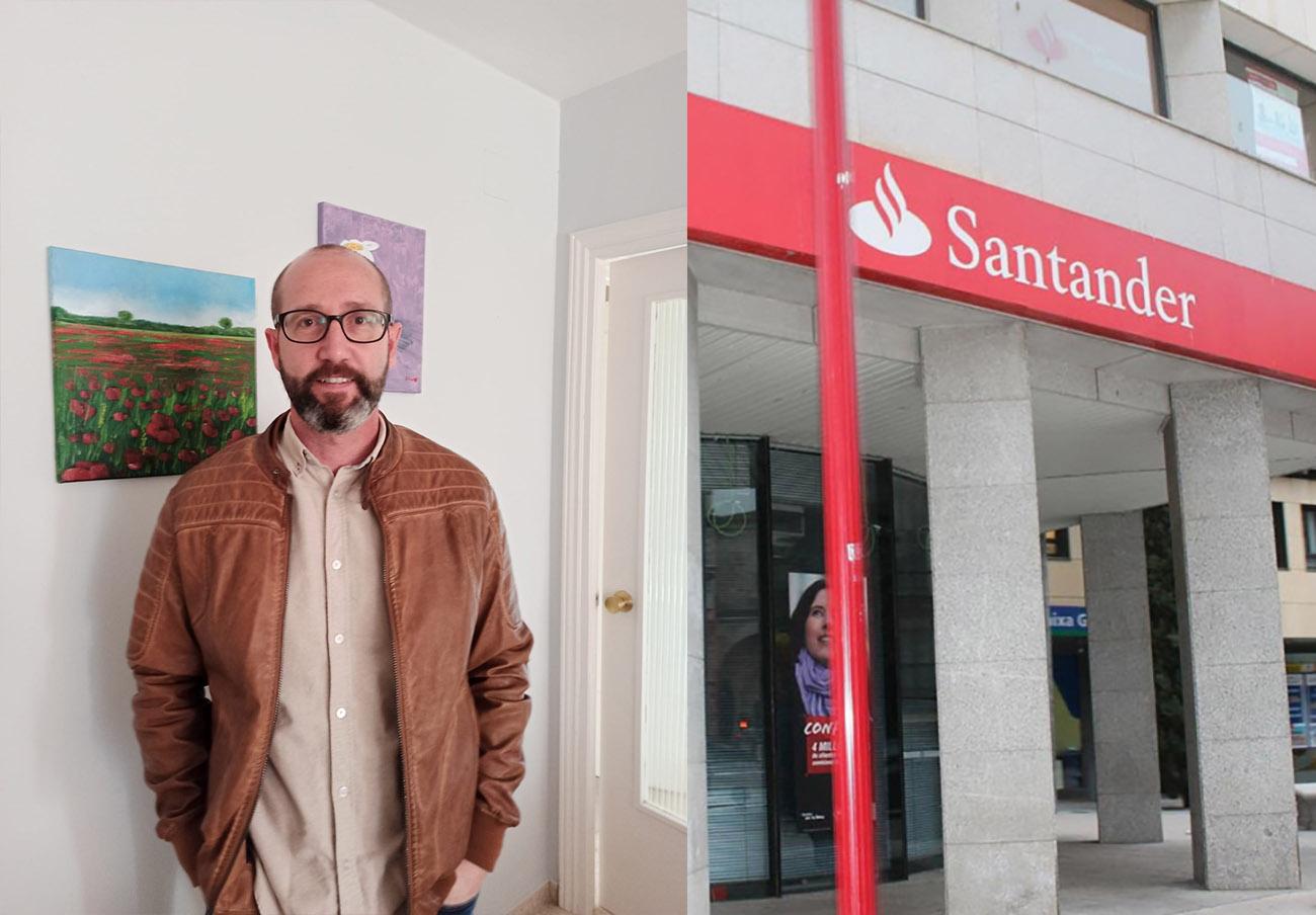 Realizan un cobro fraudulento de 3.000 euros en la cuenta de un usuario... y el Santander lo culpa a él