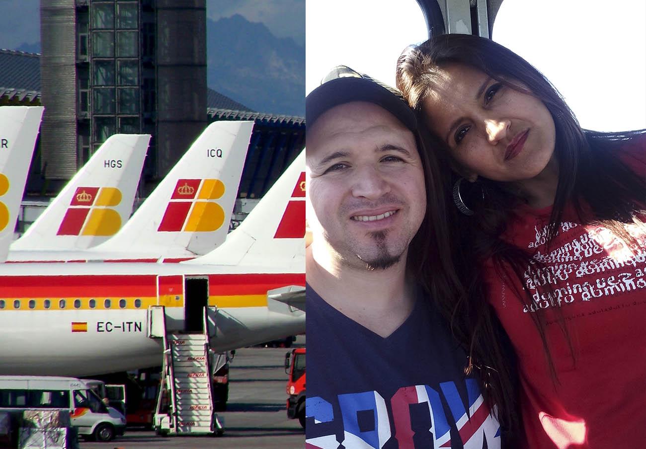 Iberia abona 2.400 euros a dos socios de FACUA que sufrieron más de 24 horas de retraso en su vuelo