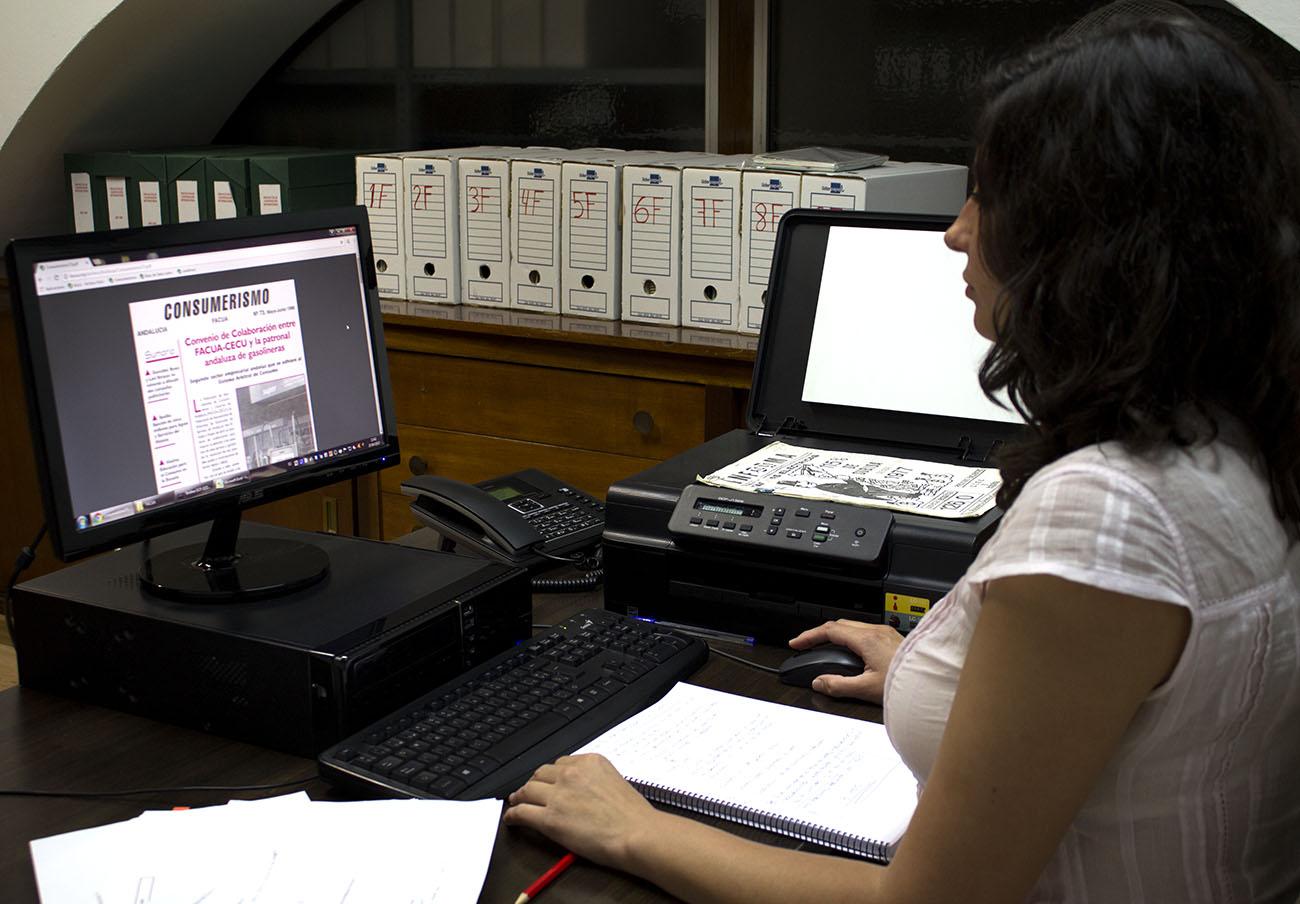 En 2017 se inició el proceso de digitalización del Archivo Histórico.