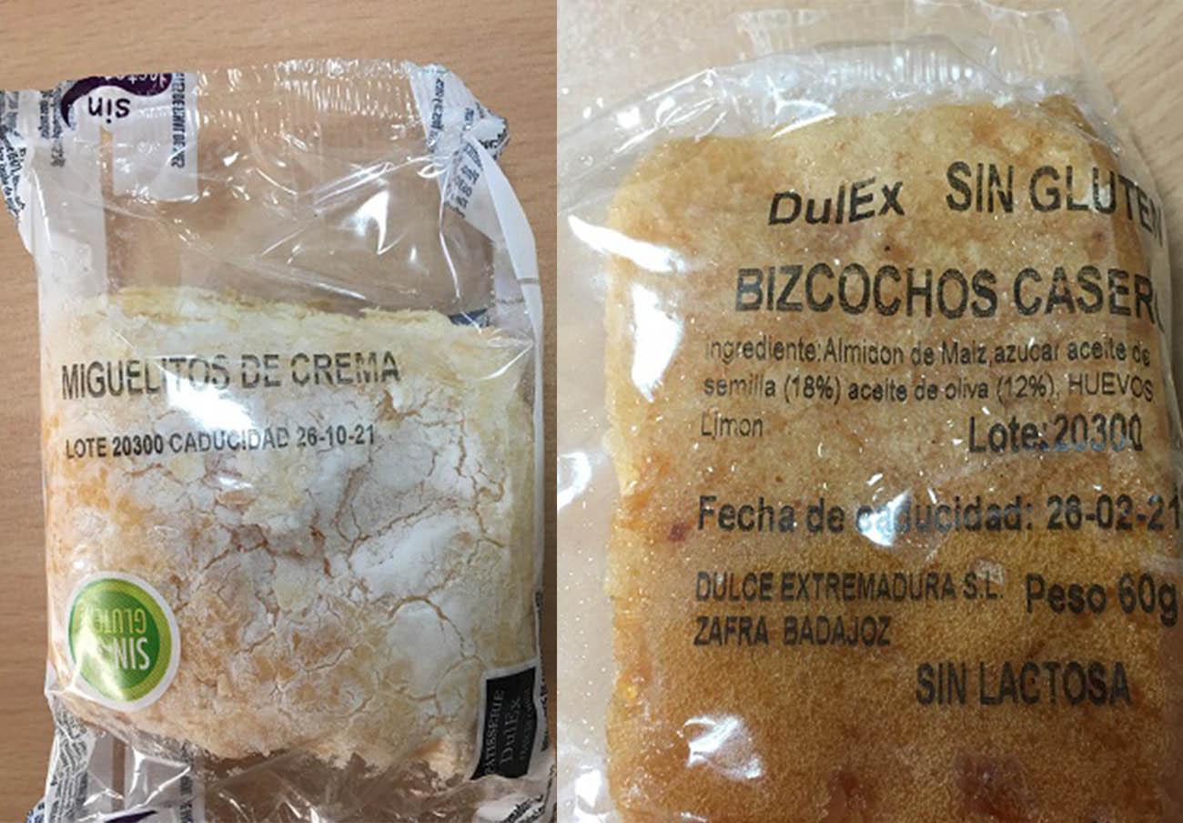 Consumo alerta de bollería fabricada por Dulces Extremadura SL en condiciones higiénicas deficientes