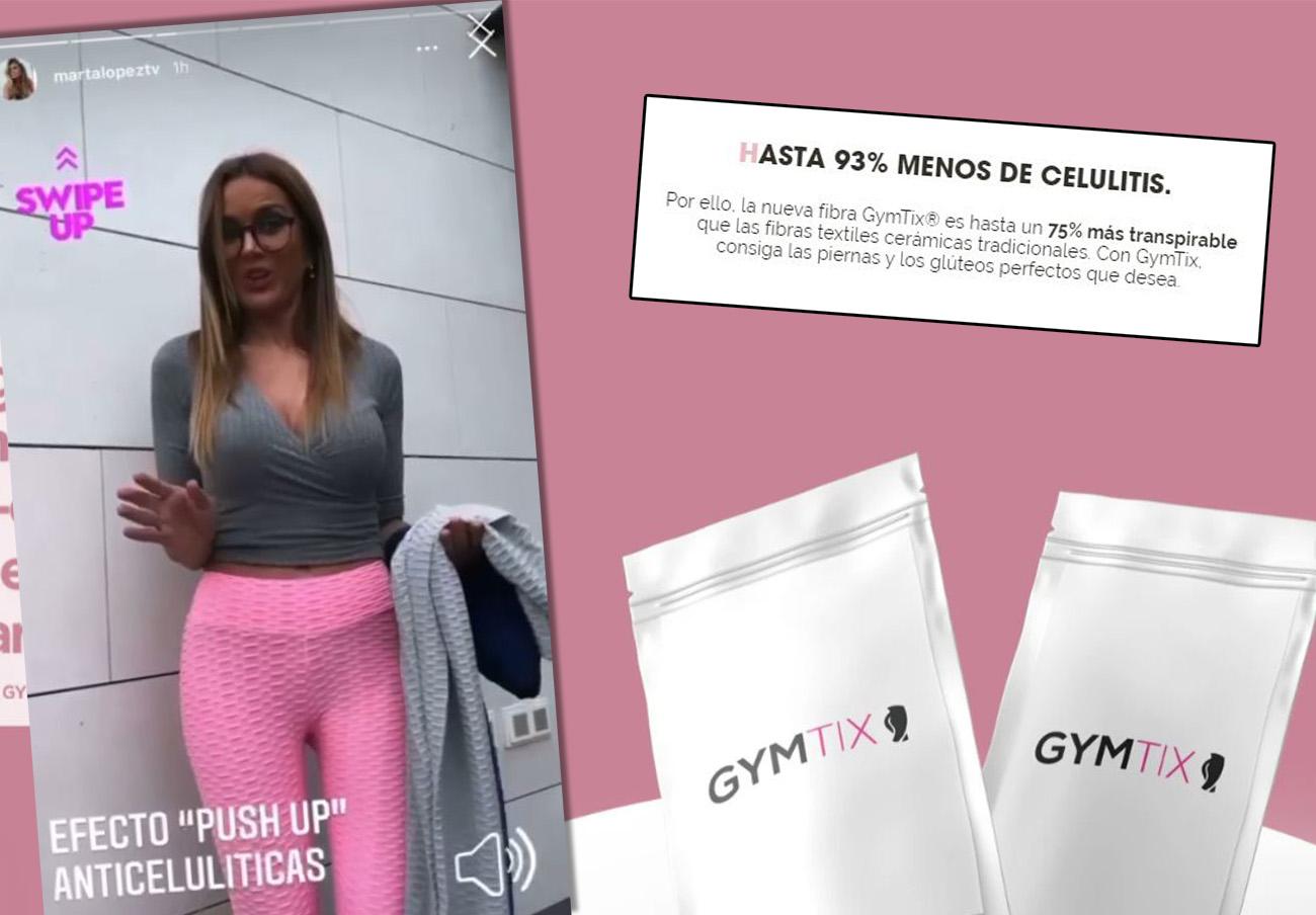 """Gymtix: FACUA denuncia en Sanidad y Consumo unos leggings que prometen """"hasta un 93% menos de celulitis"""""""