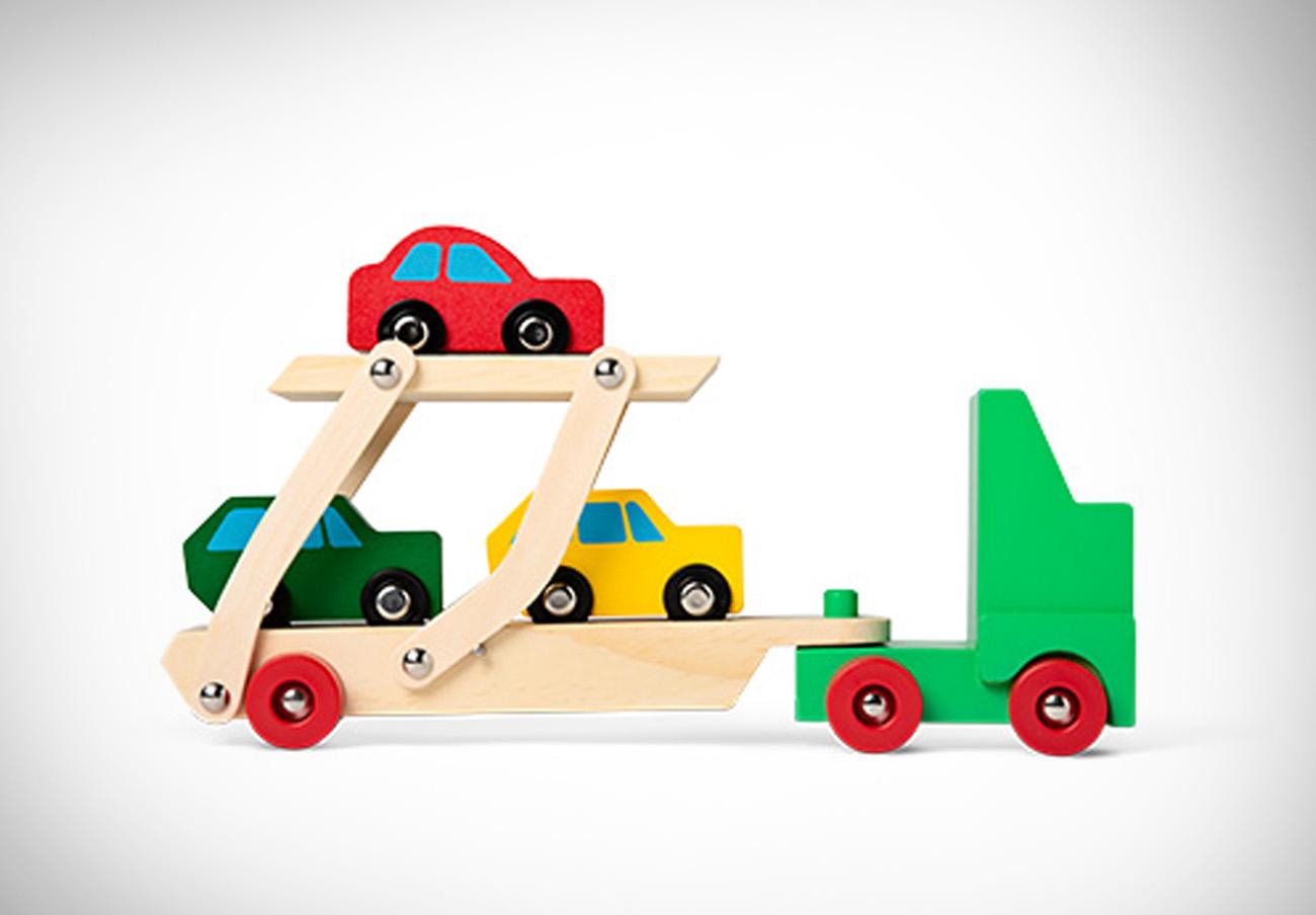 FACUA alerta de la orden de retirada de un camión de juguete de las tiendas Tiger por riesgo de asfixia