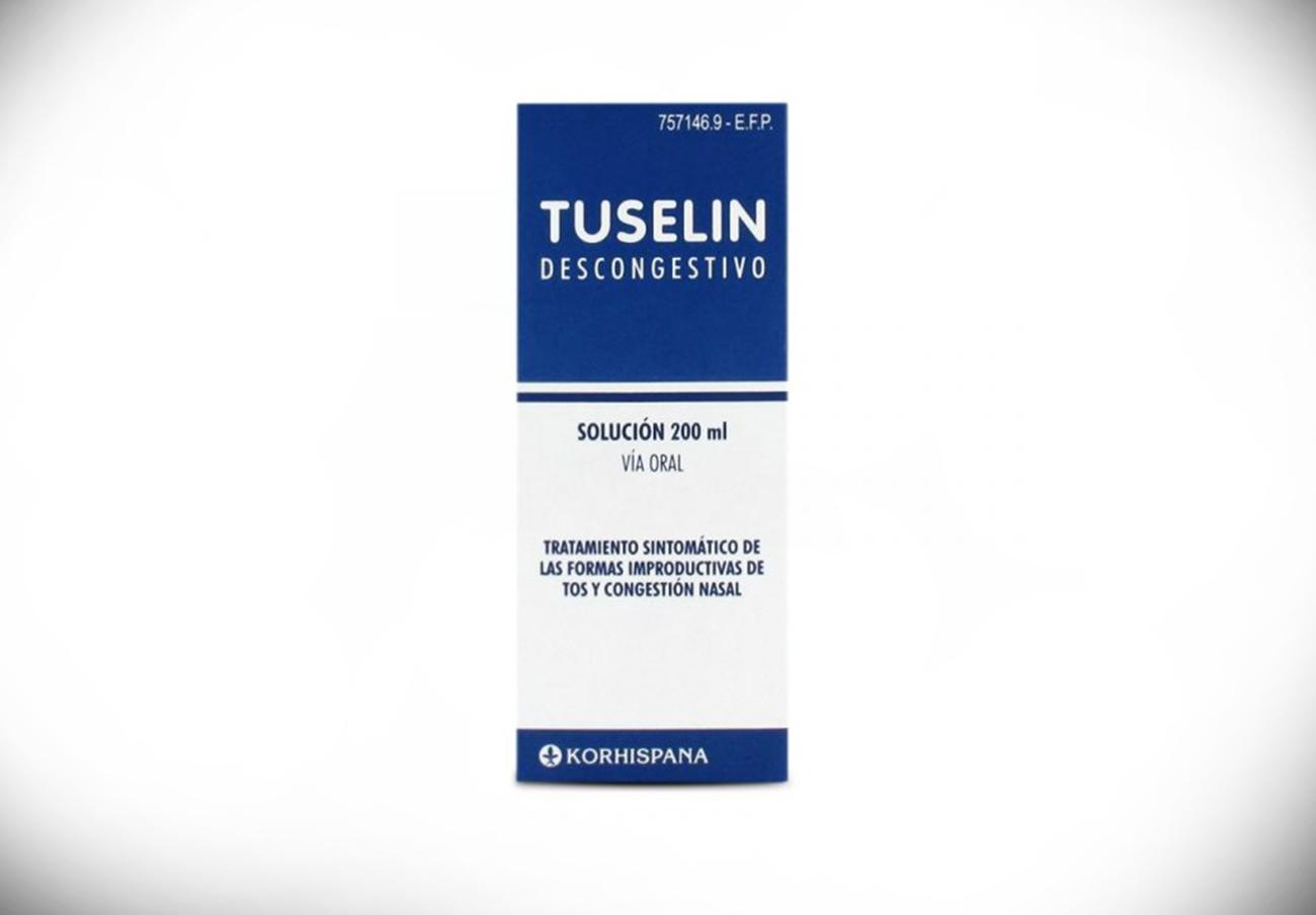Sanidad ordena la retirada del jarabe para la tos Tuselin 2mg/ml por resultados fuera de especificaciones