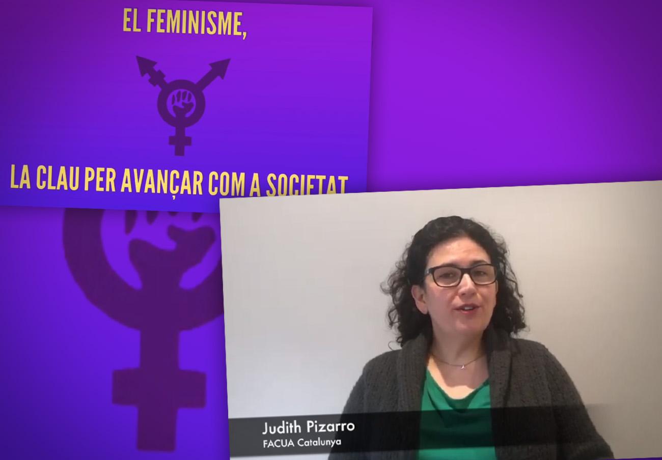 FACUA Catalunya participa en un vídeo de la Coordinadora de Entidades de Tarragona con motivo del 8M