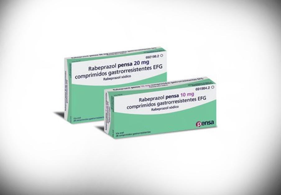 Sanidad ordena la retirada de un lote de Rabeprazol Pensa 20 mg por resultados fuera de especificaciones