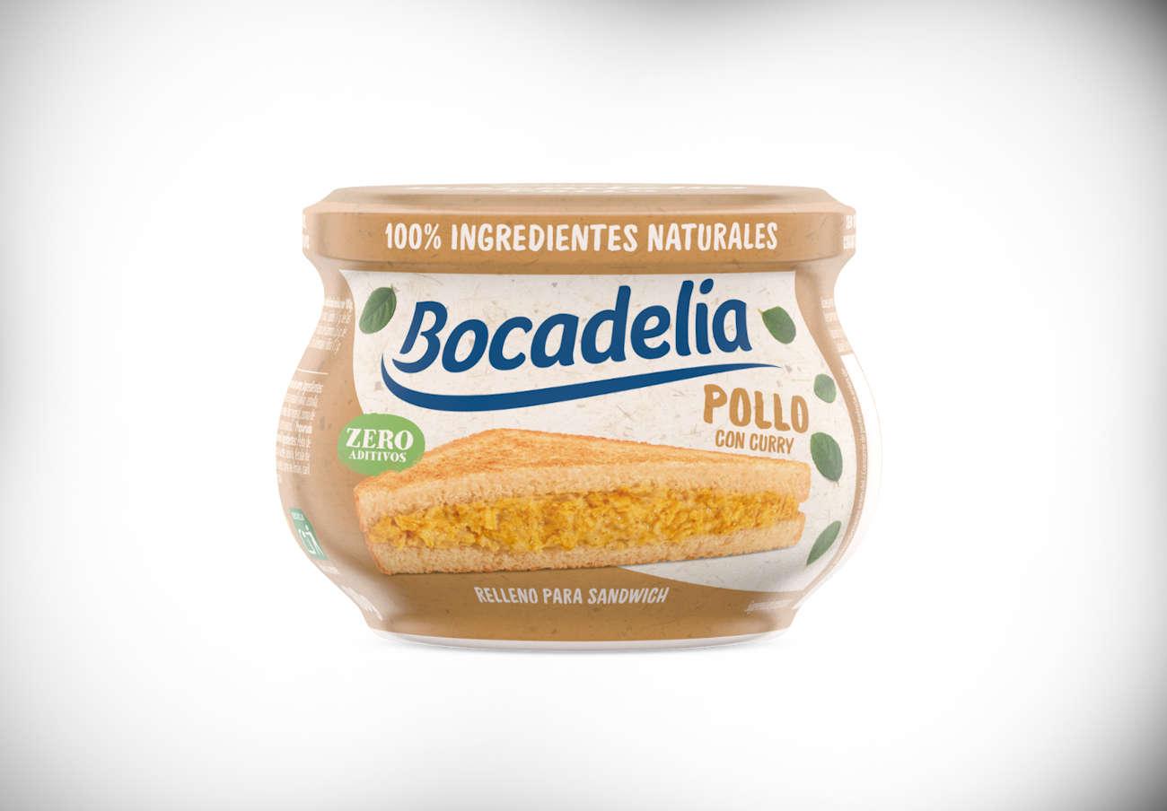 Alertan de la presencia de leche no declarada en relleno para sándwich de pollo al curry marca Bocadelia