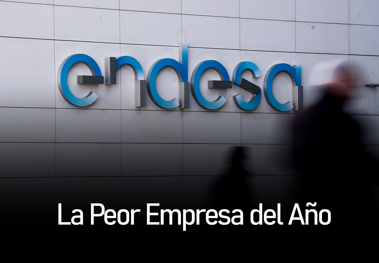 Endesa, voted Worst Company of the Year by consumers