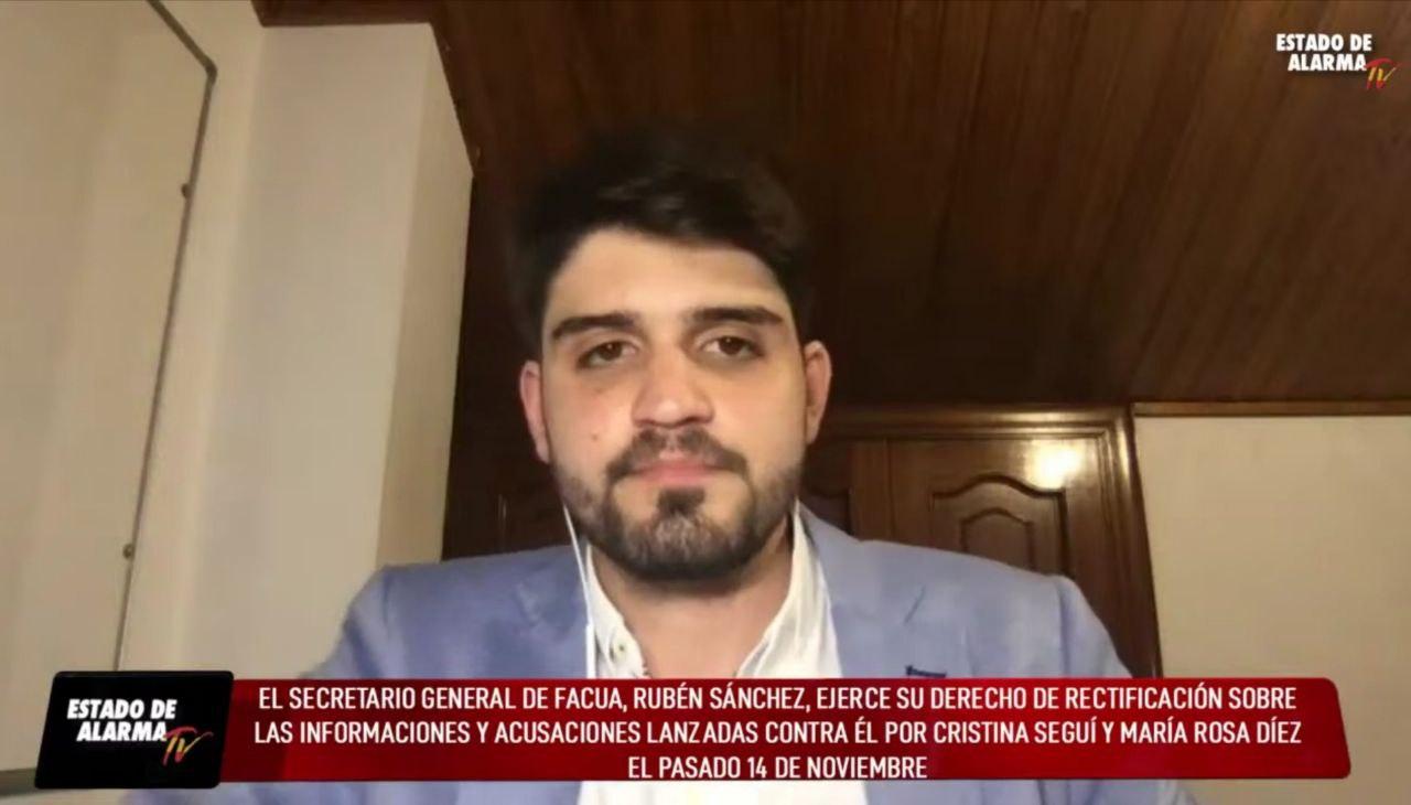 Javier Negre cumple su condena y difunde en 6 medios la rectificación de los bulos sobre Rubén Sánchez