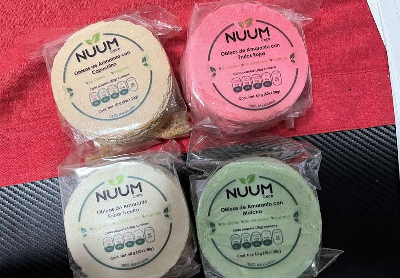 """Alertan de la presencia de gluten no declarado en obleas de sabores """"sin gluten"""" marca Nuum"""