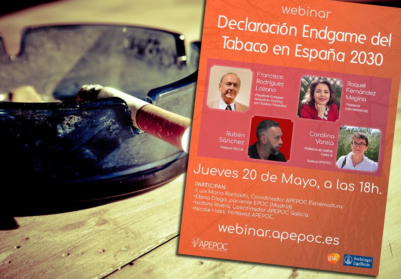 FACUA participa en un coloquio 'online' sobre tabaquismo y protección de la salud