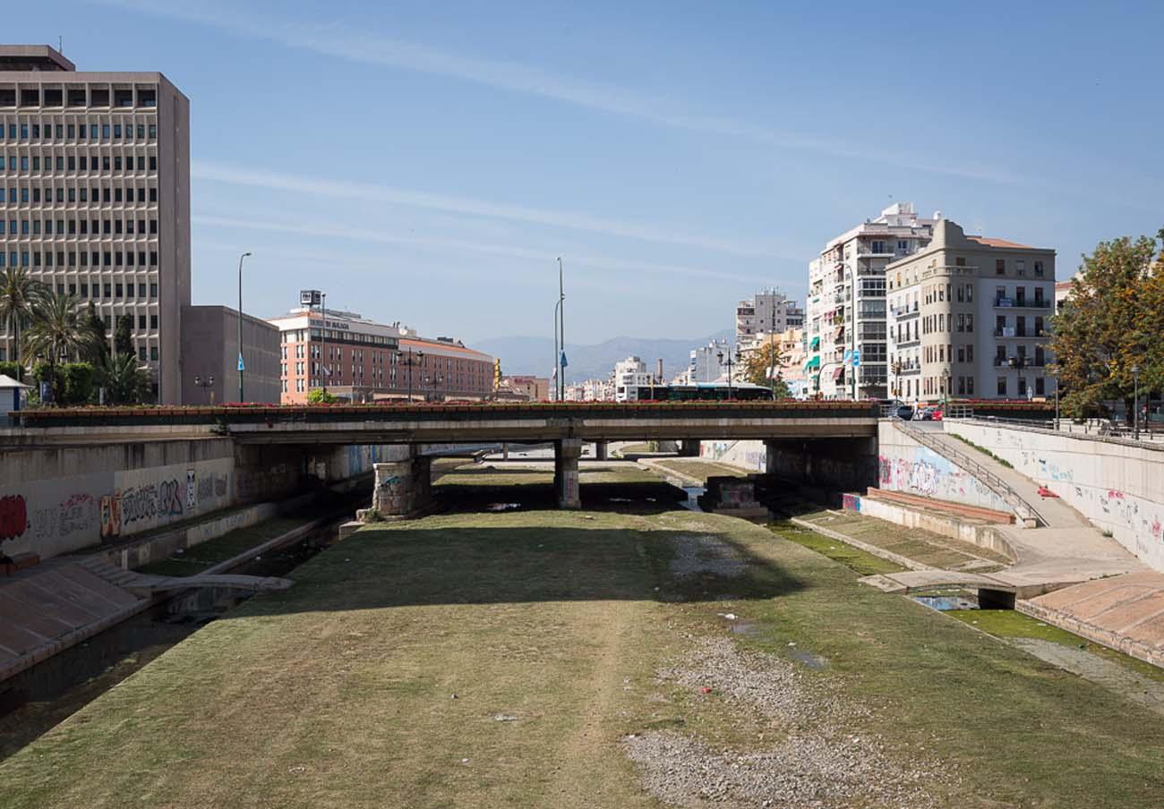 FACUA Málaga se suma a la propuesta de recuperación del río Guadalmedina a su paso por la ciudad