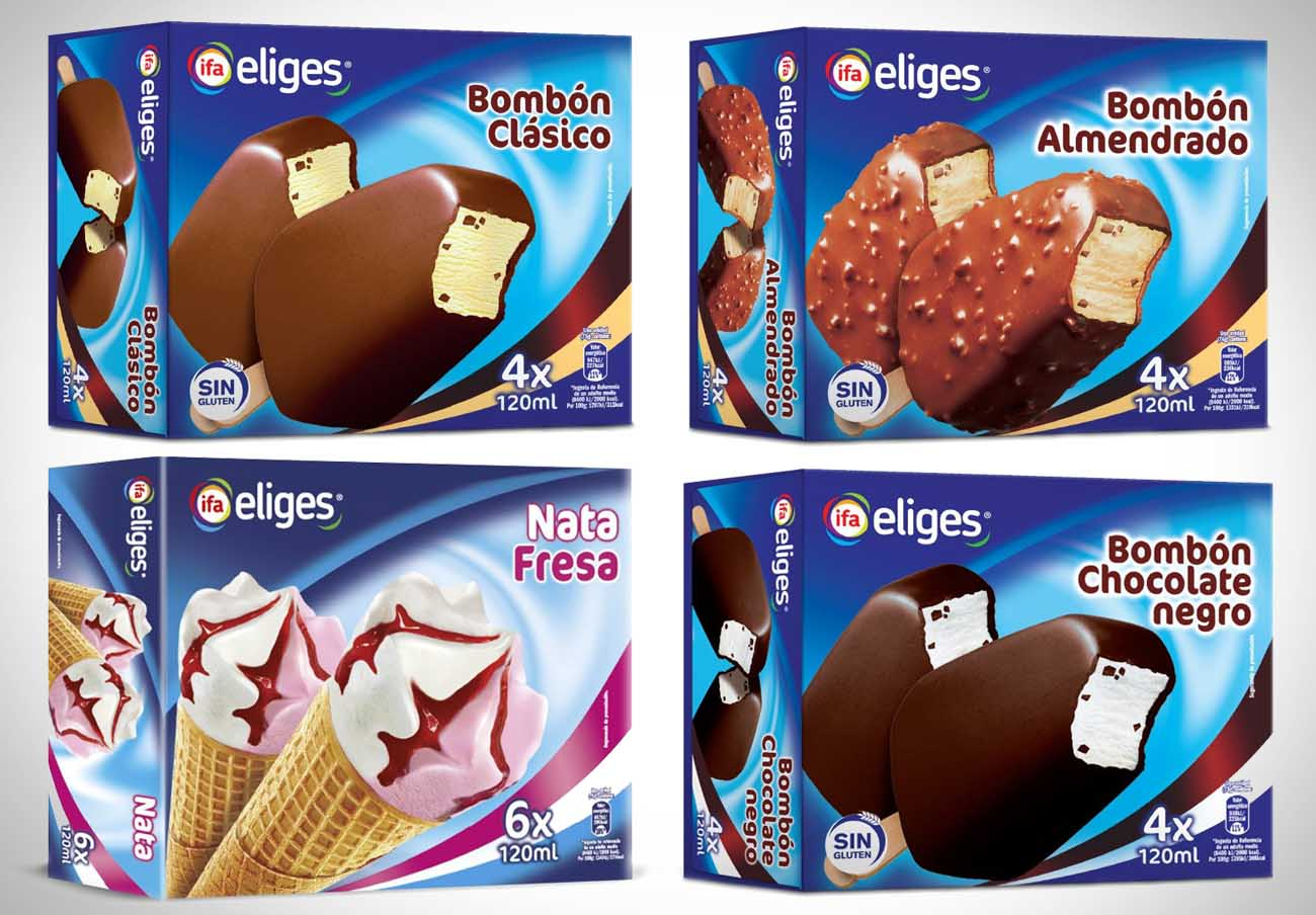 Al menos 4 helados de la marca IFA Eliges se suman a la alerta por la contaminación con óxido de etileno