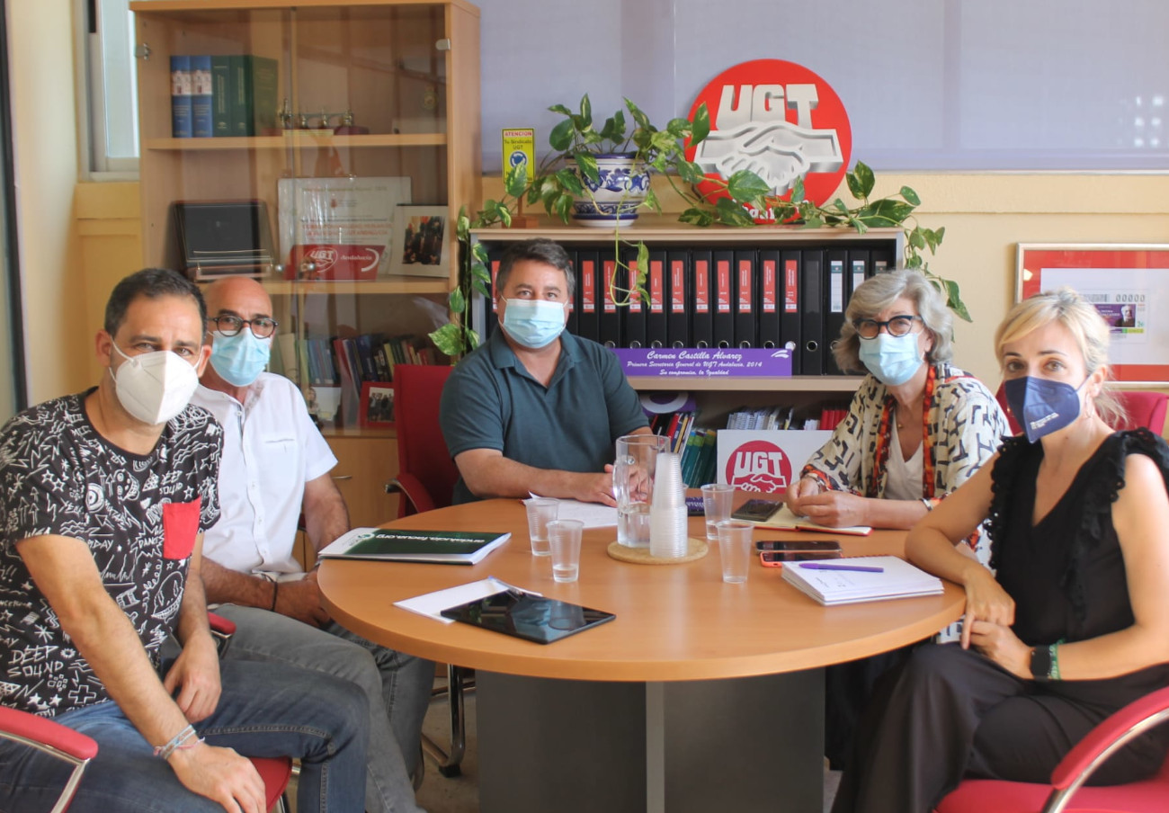 FACUA Andalucía se reúne con UGT-A para hacer frente común ante las injusticias sociales