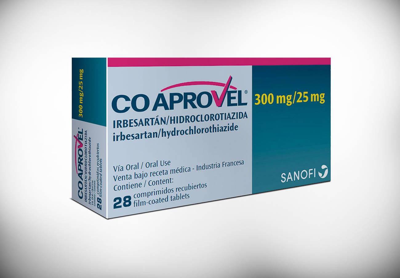 Sanidad ordena la retirada de dos lotes de Coaprovel 300 mg por una impureza en su principio activo