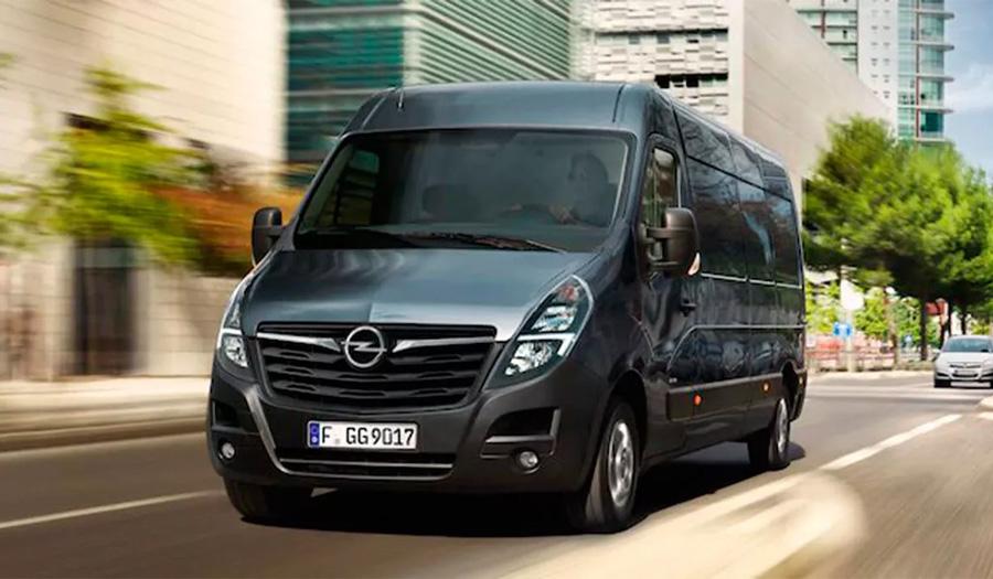 Alertan del riesgo de accidente por un fallo en el freno de mano de la furgoneta Opel Movano B