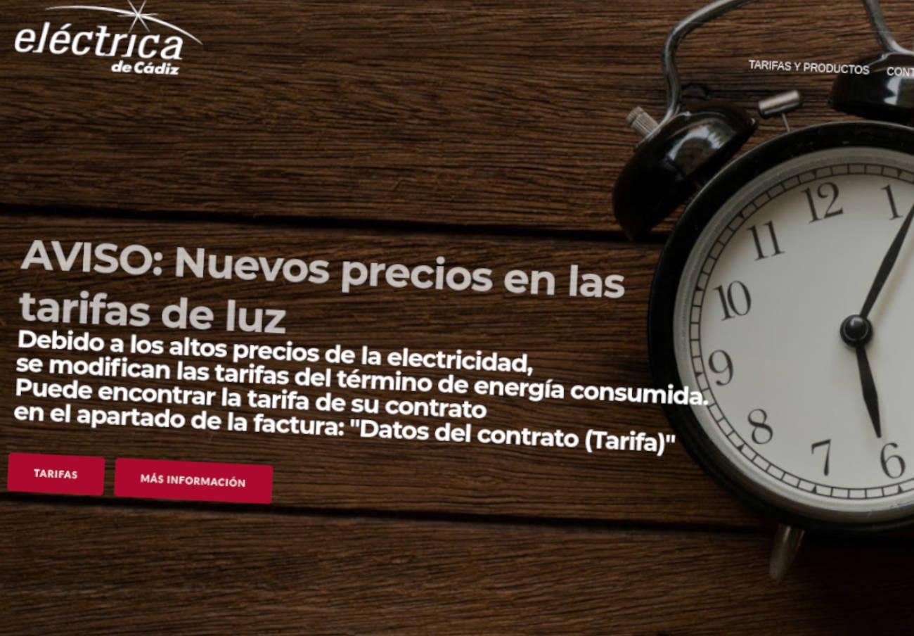 FACUA prepara acciones legales contra Eléctrica de Cádiz por su subida de tarifas