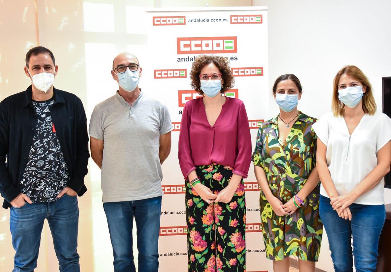 FACUA Andalucía se reúne con CCOO para reforzar sus compromisos en la defensa de usuarios y trabajadores