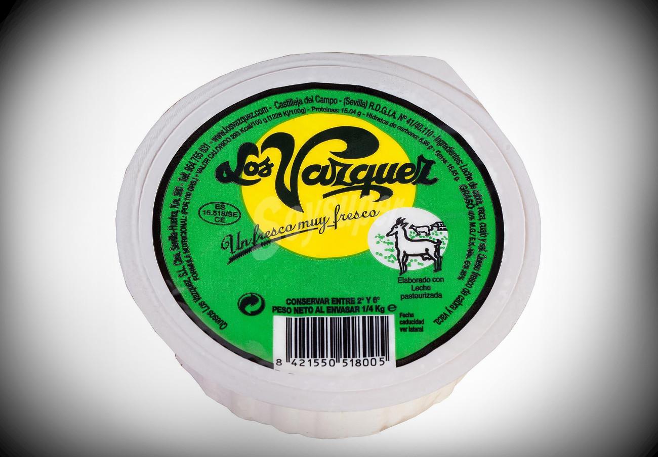 Alertan de la presencia de listeria en queso fresco de leche de cabra de la marca Los Vázquez