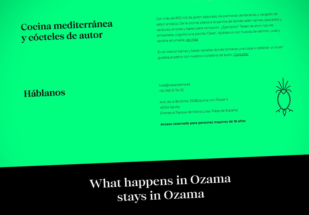 FACUA Sevilla denuncia al restaurante Casa Ozama por impedir el acceso a menores