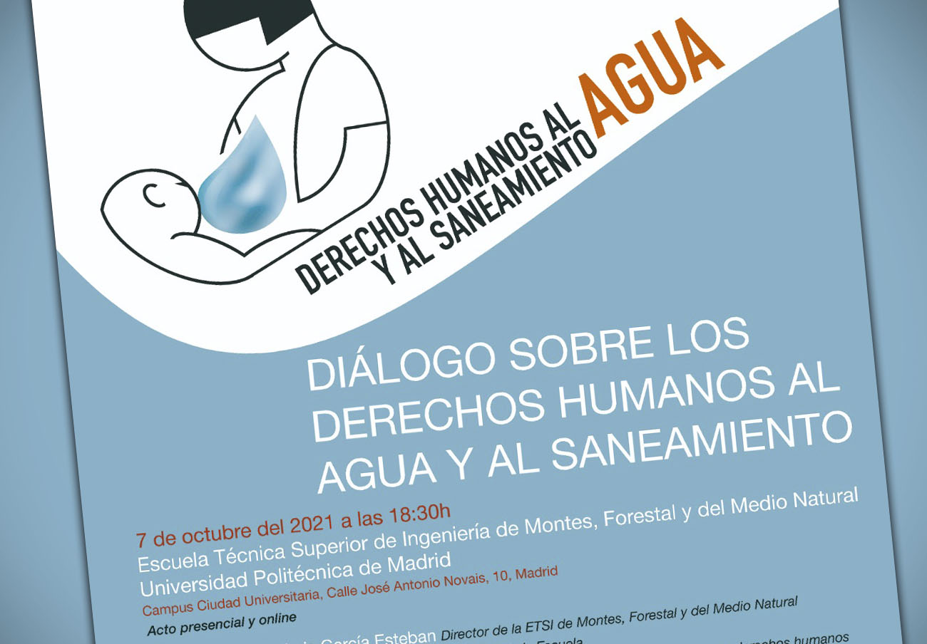 FACUA Madrid participa en un acto de la campaña Agua y saneamiento: derechos humanos básicos para la vida